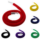 Внешний вид - 1.5 Stanchion Rope Control Post Crowd Velvet Queue Line Barrier 6 Colors