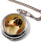 Head Study of a Fox Terrier by Colin Graeme Roe Full Hunter Pocket Watch