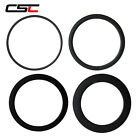 CSC 20.5/,23/25mm Wide carbon road racing rim of 38/50/60/88mm Clincher/Tubular
