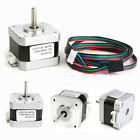 5Pcs 3MH Nema 17 Stepper Motor 1.5A 1.8° 4-Wire Cable For 3D printer CNC Reprap