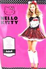 New Women Hello Kitty  Play Party Dress Up Halloween Costume