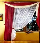 Hand Made High Quality Set Exclusive Collection Voile Net Curtains For You Long