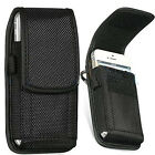 sony mobile xperia j - Universal Nylon Belt Pouch with Hook and belt Loop for Mobile Phones