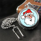 Santa Father Christmas Pocket Watch
