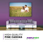 Full Colour Personalised Canvas Print - Your Photo Printed & Framed on 38mm Pine