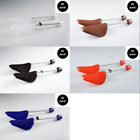 20-PACK Plastic Shoe Trees sz 8-13 COLORFUL CLEAR HIGHLY DURABLE FREE SHIPPING