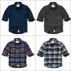 ABERCROMBIE & FITCH MEN`S by Hollister FLANNEL SHIRTS PHELPS TRAIL SIZE M,L, XL