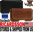 # RICARDSSON REAL GENUINE LEATHER BELT LOOP HOLSTER POUCH CASE FOR MOBILE PHONES