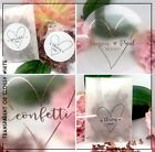 Heart Throw Me | Sprinkle with love sticker Transparent | gloss Wedding confetti
