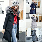 New Fashion Womens winter jacket woman fur hooded coat down coats parka XS-XL