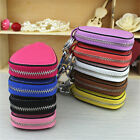 car remote pouch - New Genuine Leather Women Auto Car Remote Key Chain Case Holder Key Bag Pouch
