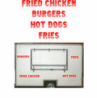 American Wording 1, Burger Van Stickers, Catering Trailer, Cafe, Catering.