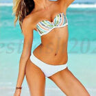 Women Bikini Set Bandage Push Up Padded Bra Swimsuit Bathing Beachwear Swimwear