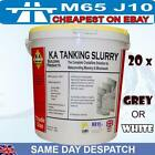 KA Tanking Slurry Grey or White 25kg Bucket Water proofer damp proofing masonry