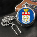 County of Yorkshire Coat of Arms Full Hunter Pocket Watch