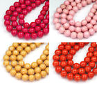 8mm inch - 8mm River Stone Jasper Round Beads - 15 inch strand - Choose Color