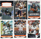 (6) CHICAGO BEARS GAME USED JERSEY BASE & INSERT CARDS TOPPS SCORE JEFFERY RC