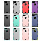 10pcs/lot 2 in 1 Hybrid Armor Dual Layer Shockproof Case For iPhone 8 I8 plus
