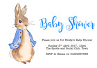personalised party Invitations BABY SHOWER BEATRIX POTTER PETER RABBIT #3