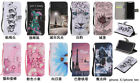 10pcs Painted 10 different Design Flip PU Leather Case For iPhone 7/7P/8/8P/X