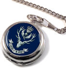 The Highlanders Full Hunter Pocket Watch (Optional Engraving)