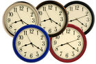 8.5 Wall Clock Beige Quality Water Resistant, Office, Boats,RV, Bus, Home Decor
