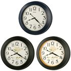 19 Simply Modern Oversized Gallery Metal Wall Clock Thickly Frame Quality Made