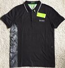 HUGO BOSS POLO T-SHIRTS FOR MEN 100% COTTON SLIM FIT (FREE SHIPPING)