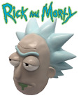 Rick and Morty 123 Mask Cosplay Rick Adult Latex Masks Full Head Halloween Mask