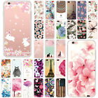 TPU Soft Flexible Shockproof Protective Case Clear Cover For iPhone 8 7 Plus 6s