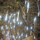 30cm 144 LED Light Meteor Shower Falling Rain Drop Snow Fall Xmas String Lights