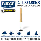 Budge All-Seasons Waterproof Patio Umbrella Cover | Various Sizes and Colors