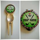 anneys - PERSONALISED luv golf range - 4 options - (24mm ball markers)green.