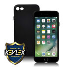 Apple iPhone 7 Kevlex Case Protector  Black or Clear Flexible Soft Case