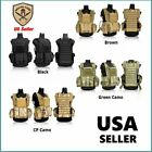 Tactical Military Vest Molle for Airsoft Paintball Combat Swat Assault and ArmyN