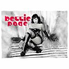 Bettie Page Boots Poly 20X28 Pillow Case White One Size