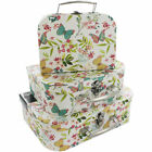 BUTTERFLY STORAGE SUITCASE BOXES - 3 Sizes or Full Set