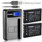 FNP60 Battery or LCD Slim Charger for KODAK EasyShare P712 P850 P880  Z730 Z7590