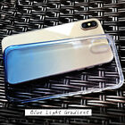 New Gradient Color Silicone Soft TPU Case Cover Back Shell For Apple iPhone X