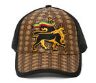 Straw Adjustable Trucker Hat w/ Patch (Various Fun Styles)