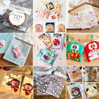 100Pcs Cute Cello Cellophane Kids Wedding Favour Sweet Biscuit Party Gift Bags