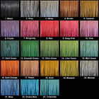10 Metres 1mm Waxed Cotton Cord Jewellery Stringing - 28+ Various Colours