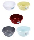 Plastic Round Washing Up Bowl Basin Cutlery Tidy Organizer Kitchen Home New