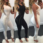 Women Ladies Clubwear Hollow Playsuit Bodycon Party Jumpsuit&Romper Trousers USA