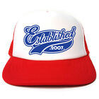 Established 2007 Hat - Funny Retro Trucker Cap - Birthday / Christmas Gift Idea