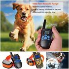 US Dogs Training Shock Collar With Remote Control 100 Level Shock Vibration Beep