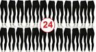 2 Dozen 24 Pieces Bundle Women Seamless Fitted Leggings Pants Wholesale Yoga