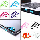 13Pcs/Set Rubber Silicone Anti-Dust Port Plug Cover Stopper for Laptop Notebook