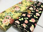 *NEW*Bodycon Baby Scuba Jersey Floral-African 8 Dress/Craft Fabric*FREE P&P*
