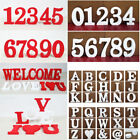 2 Type 26 Wooden Free Standing Letters Alphabet Wedding Home Shop Decoration